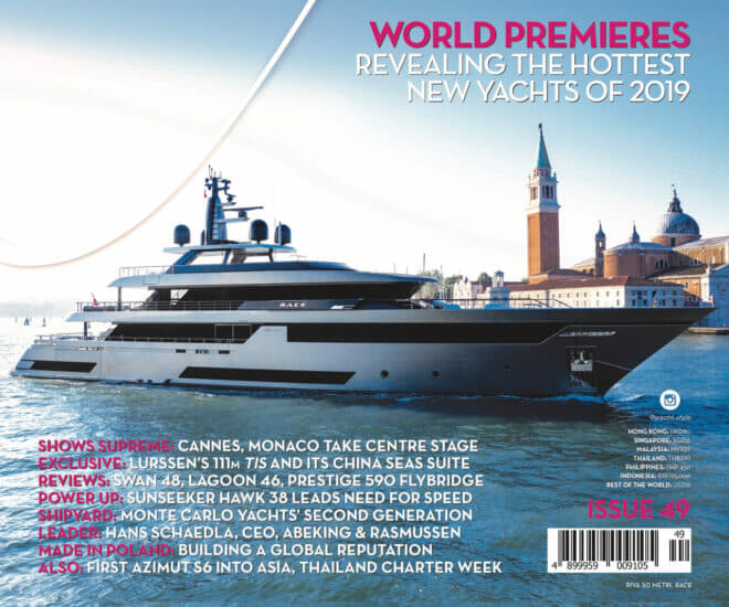 Yacht Style Issue 49, The Premieres Issue 2019