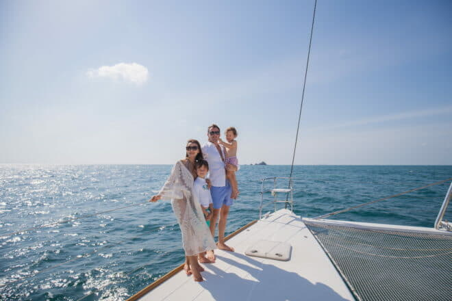 Safety on board is a concern that comes to the mind of parents when heading out on the high seas