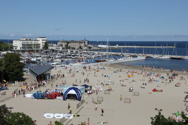 Gdynia, Poland, hosted the 14th Wind and Water on-water show and Youth Sailing World Championships in the same week