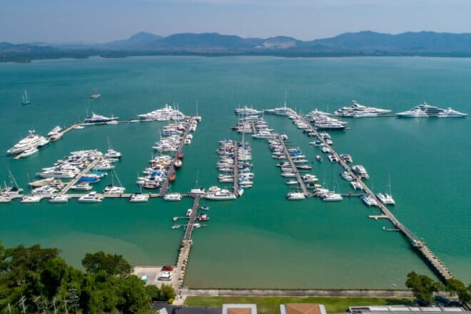 Situated on the north of Phuket, close to the airport, Yacht Haven provides a top-class venue for the first Thailand Charter Week (November 16-21)
