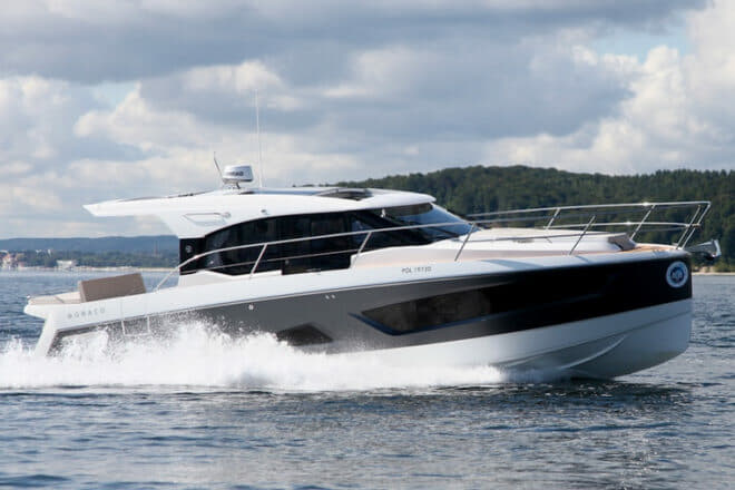 Poland: Parker's flagship Monaco 110, which showed at Cannes this year, had an early order from Hong Kong