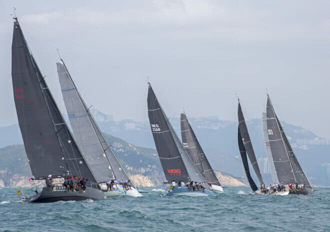This year's China Coast Regatta is from October 11-13; Photo: RHKYC / Guy Nowell