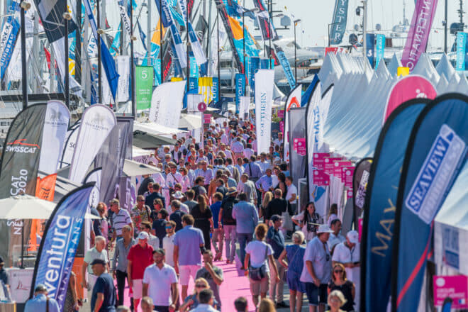 Featuring monohull and multihull sailing yachts for the first time, Port Canto attracted 15,000 visitors through the land entrances and 16,000 via boat shuttles