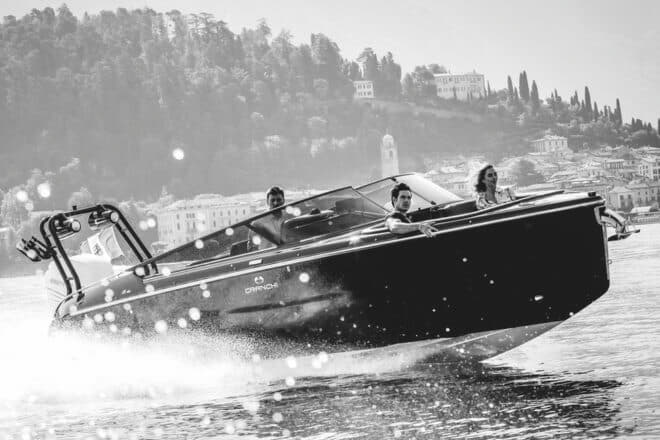 The E26 Rider was launched at the 2018 Cannes Yachting Festival