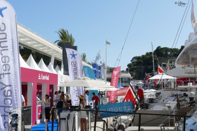 Yacht builders and brokerage houses were out in full force at the four-day event, which featured 600 exhibitors