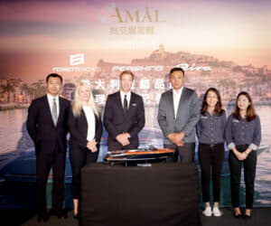 Ferretti Group Asia Pacific and Taiwan dealer Amal Yachting