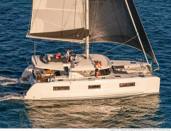 The Lagoon 46 succeeds the 450, which sold over 1,000 units