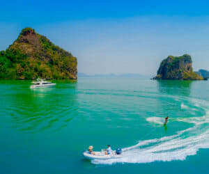 Thailand Charter Week 2019 - the 89ft Ajao by Baglietto