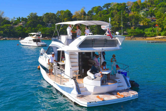 Asia Marine represents Galeon and has a 460F for charter