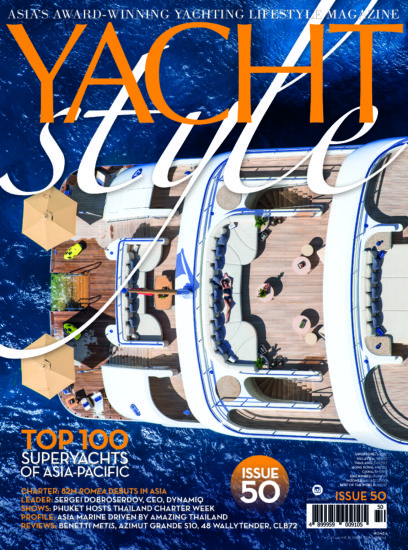 Yacht Style Issue 50 Cover