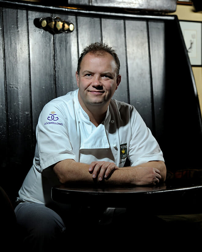 chef-owner of The Star at Harome