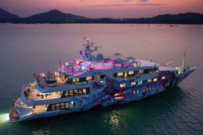 Top 100 Superyachts of Asia-Pacific 2020: 26, Saluzi