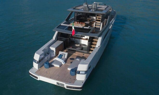 Bluegame unveiled the BGX70 at Cannes last September