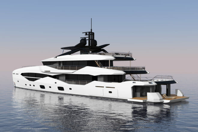 The 161 Yacht is being built in partnership with Icon Yachts in the Netherlands and is scheduled for a 2022 delivery