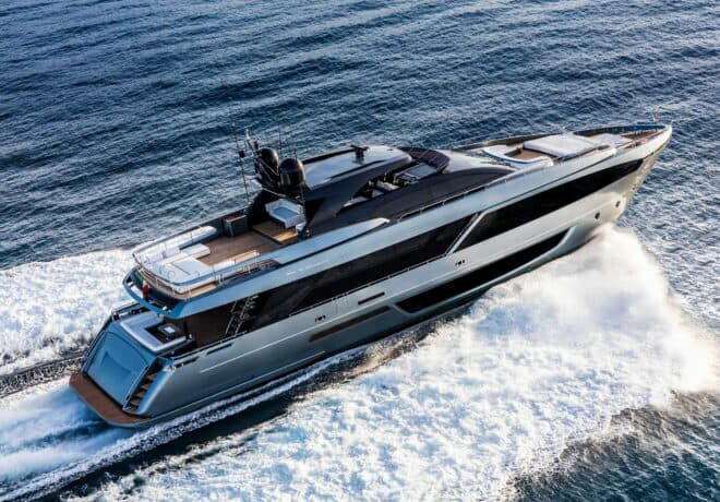 The Riva 110' Dolcevita is proving popular in Asia