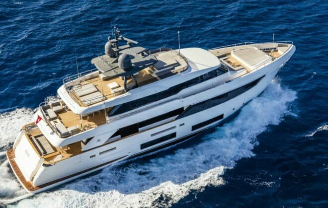The Asian premiere of the Custom Line Navetta 33 headlines the fith Thailand Yacht Show (January 9-12)