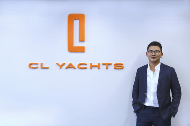Hans Lo is a driving force behind CL Yachts and one of three fifth-generation cousins helping continue the Lo family business