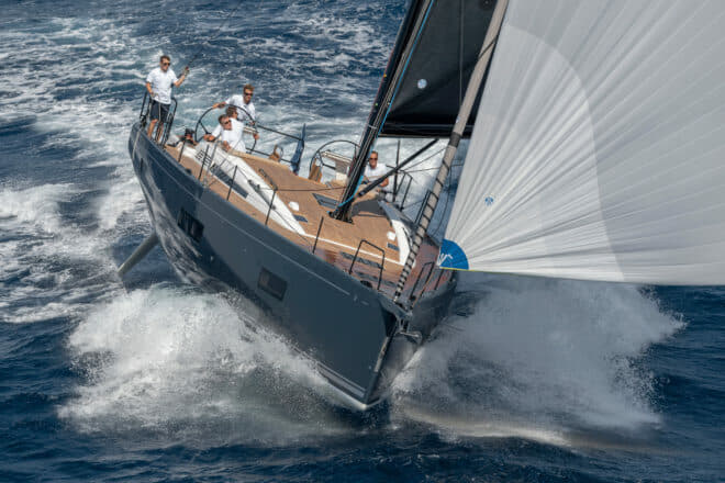 Simpson Marine: Beneteau debuted the First Yacht 53 at last year's Cannes Yachting Festival
