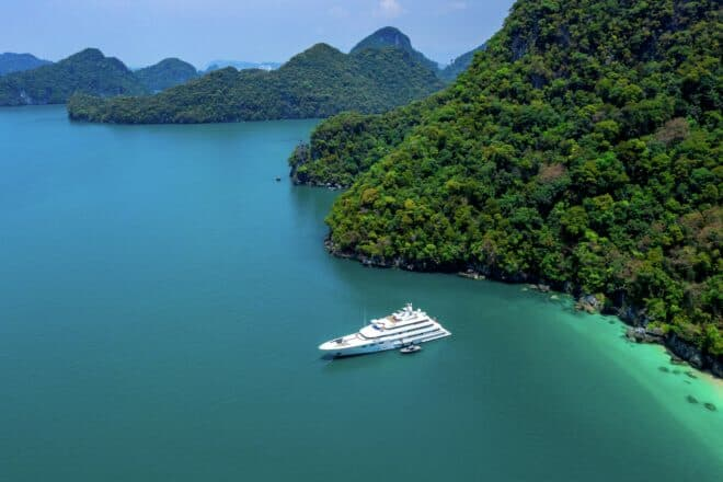 Burgess is committed to developing charter activity in Thailand, established as one of Asia's leading destinations for superyachts