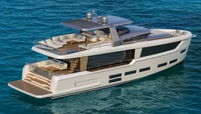 The 73ft Project E will be Beneteau's biggest-ever boat