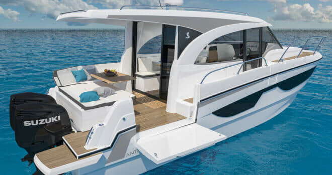 The Beneteau Antares 11 will become the flagship of its range