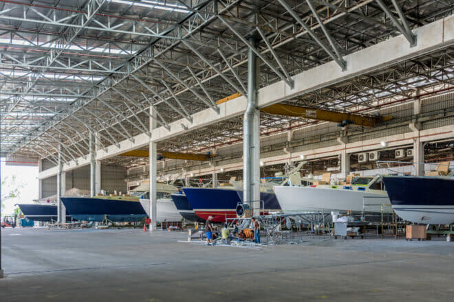 The Grand Banks Yachts facility in southern Malaysia, which produces Grand Banks and Palm Beach models, has completed a four-year expansion and upgrade