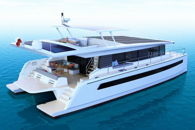 Silent Catamarans has outsourced production of its 60 to Bakri Cono