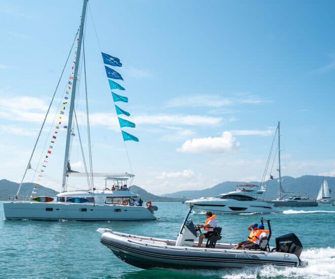 Thailand Charter Week by Thai Yachting Business Association, a full member of ICOMIA