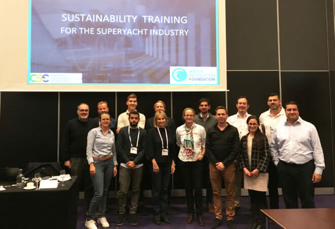 The Water Revolution Foundation's first Sustainability in Practice course was at Metstrade