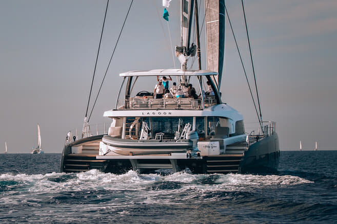 Philippines-based Abby Grace is one of three Lagoon Seventy 7s sold to Asia-based owners by different dealers