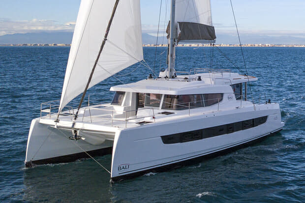 The 4.8 Open Space is Bali Catamarans's second new sailing catamaran of 2020