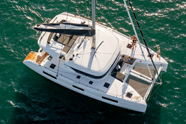 Launched in 2019, the Lagoon 46 is among a range from 40-77ft