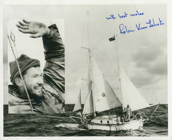 Sir Robin Knox-Johnston used a Rolex Oyster Perpetual