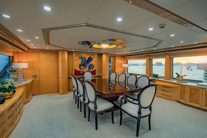 Lady Azul charter yacht in Yacht Style by Phil Clark/Helicam.asia, A7r111 (90)