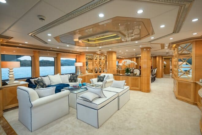 Lady Azul charter yacht in Yacht Style by Phil Clark/Helicam.asia, A7r111 (98)