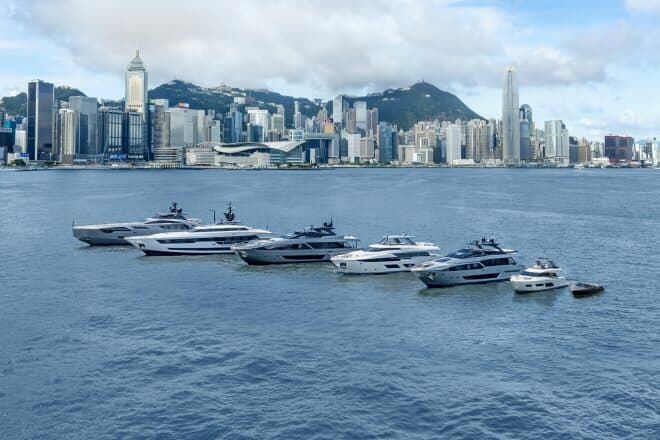 Ferretti Group has already sold 12 yachts into Asia-Pacific this year