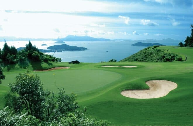 Lantau Yacht Club's members and visiting yacht owners can enjoy access to the 27-hole Discovery Bay Golf Club and its stunning views