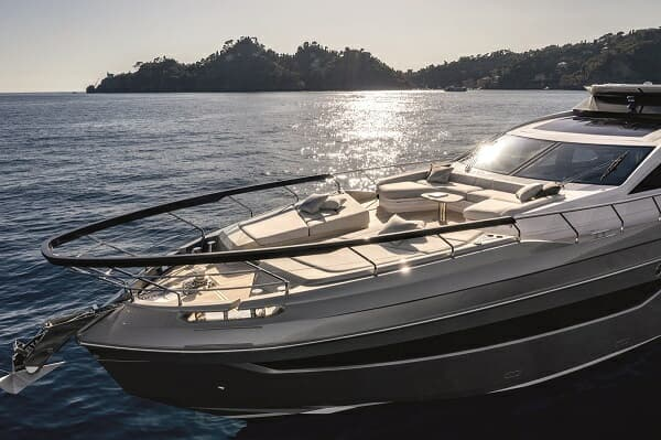 The Alberto Mancini-designed S8 debuted at Cannes in 2019
