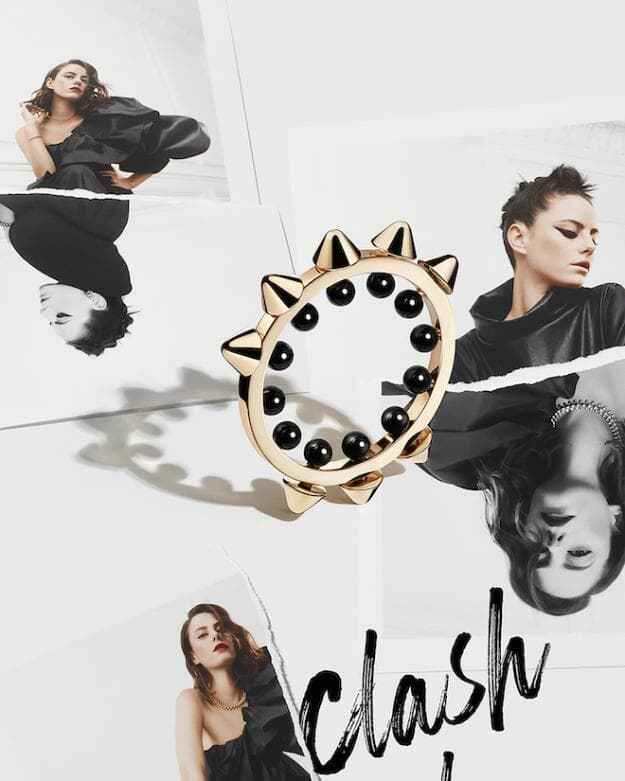 Clash de Cartier Ring with onyx beads