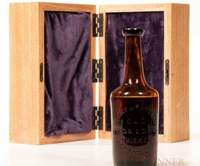The World's Only Oldest Bourbon Sold for US$137,000