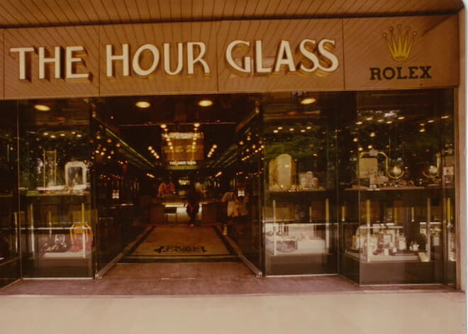 The Hour Glass first boutique in Orchard Road