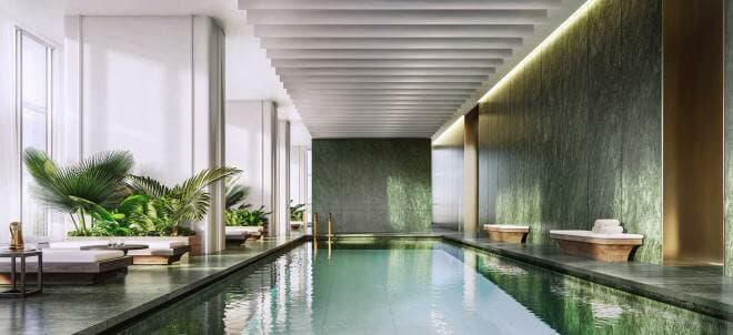Swimming pool at One Sydney Harbour