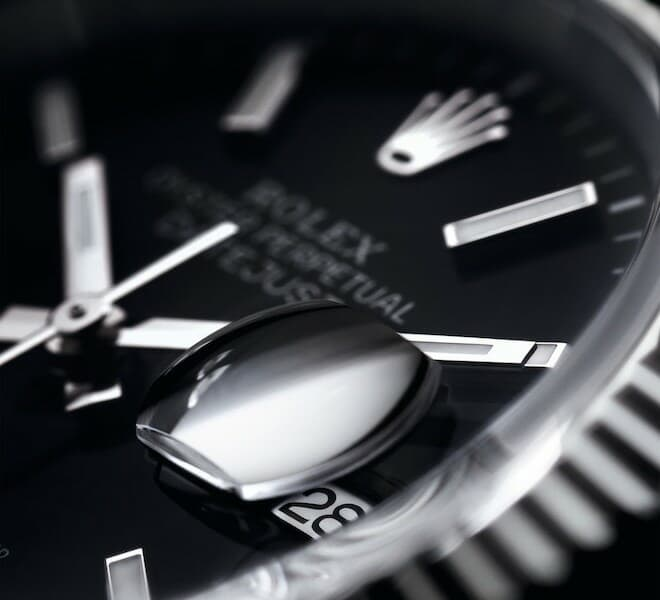 Rolex Oyster Perpetual Datejust Cyclops Lens