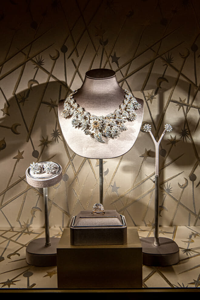 Tiffany Schlumberger Thistle necklace