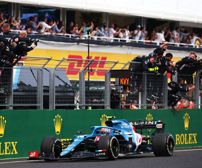 Hungarian Grand Prix: Ocon claims maiden victory, Vettel disqualified