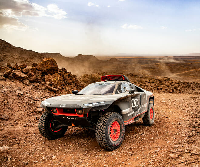 Dakar Rally: Audi Puts The RS Q e-tron to the Test in Morocco