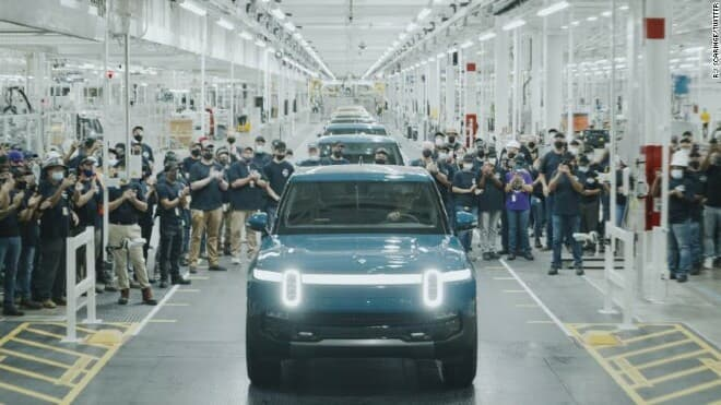rivian first electric vehicle