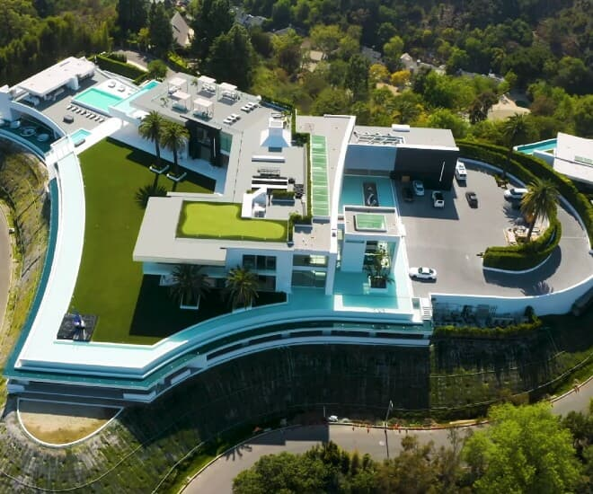 the one bel air mansion